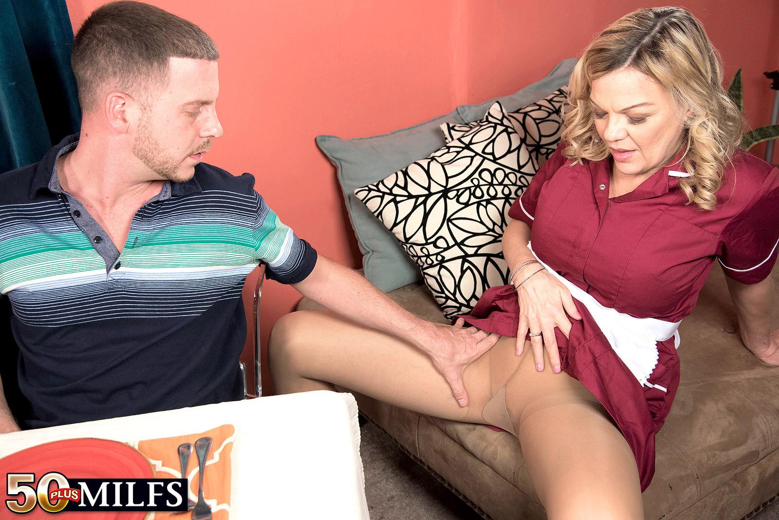 Tony takes the cocks