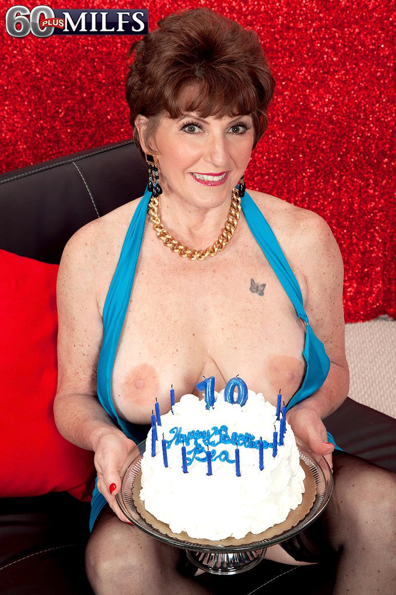 Mature anal birthday