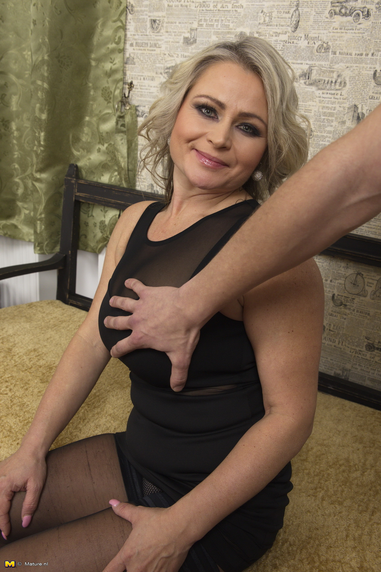 Naughty mature milf