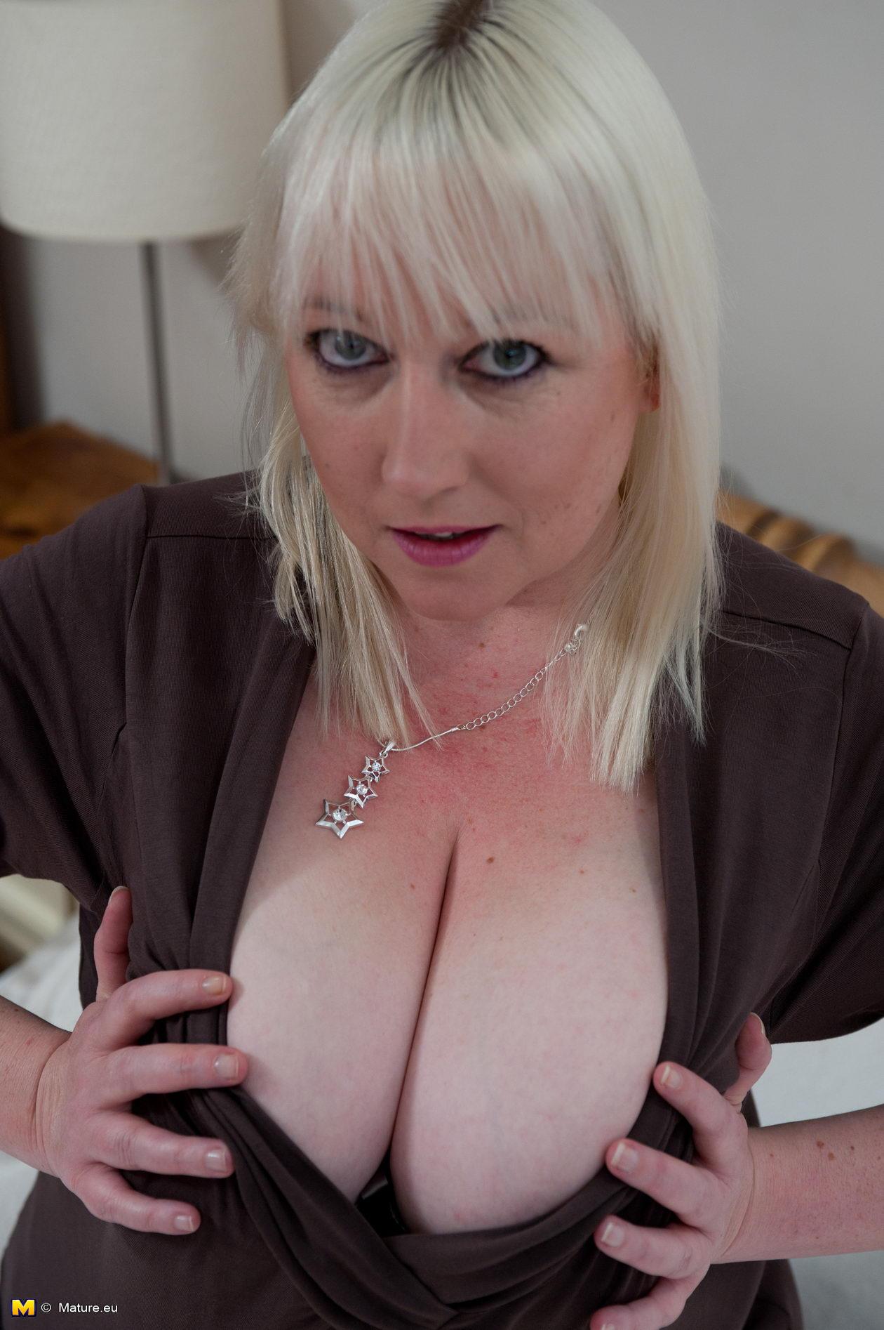 Naked saggy moms