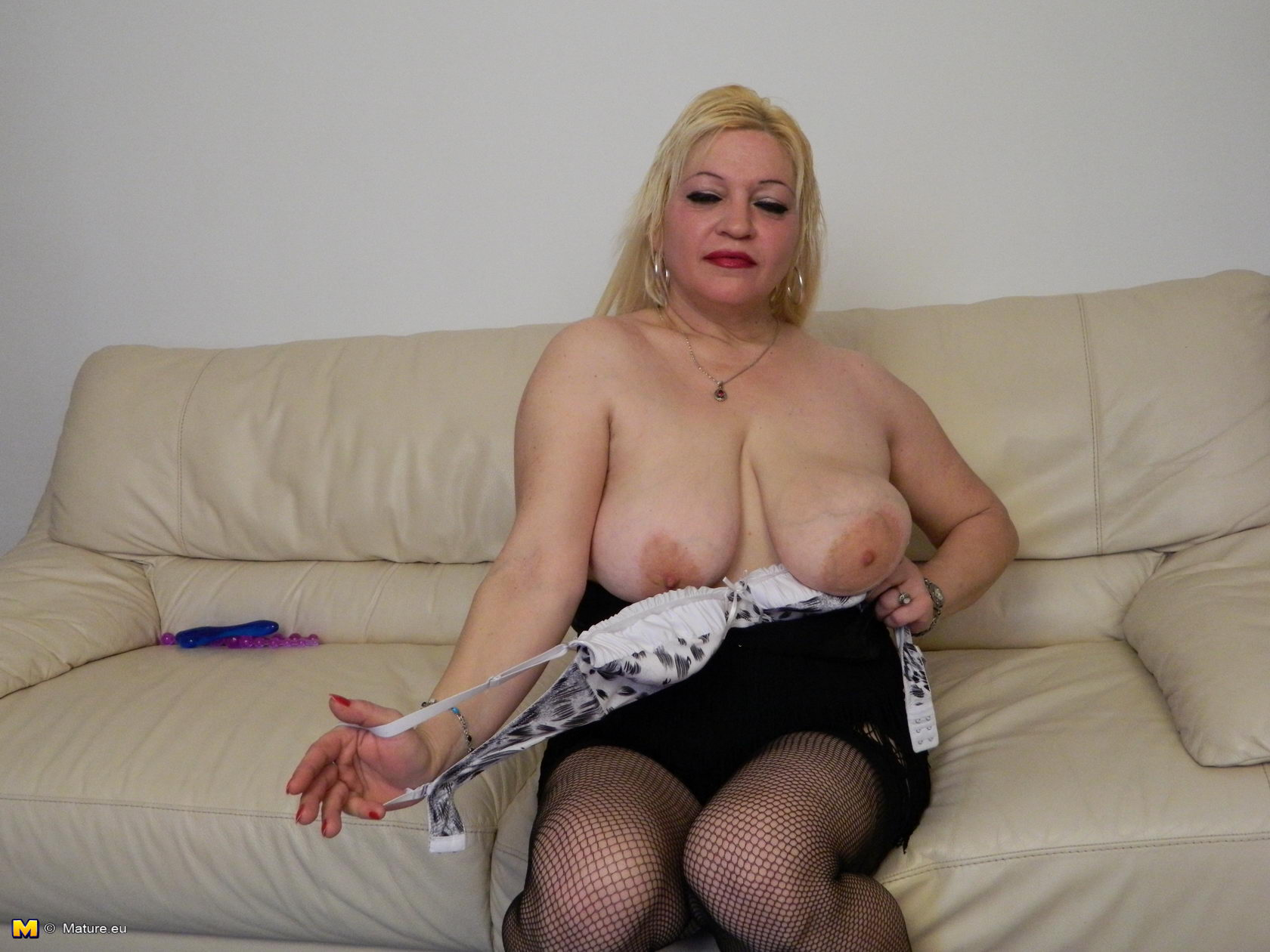 This brilliant big busty blonde mature 04 where