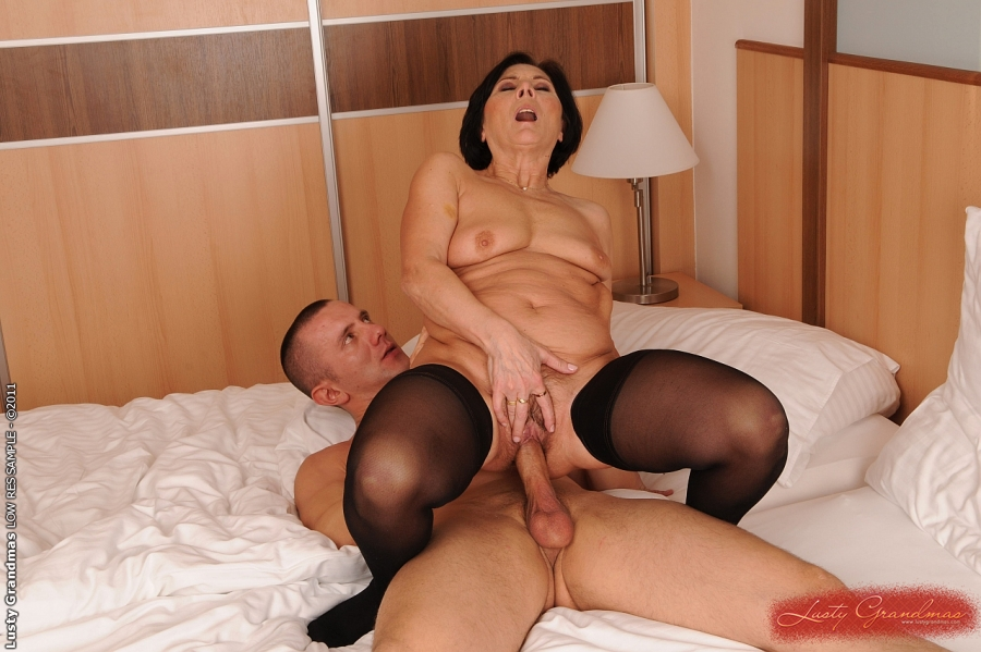 with pic lady old sex boy