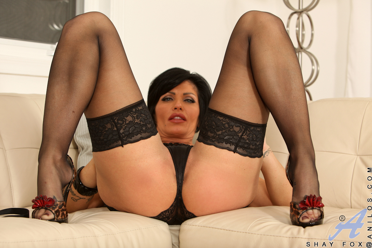 Mature solo stockings porn-8483
