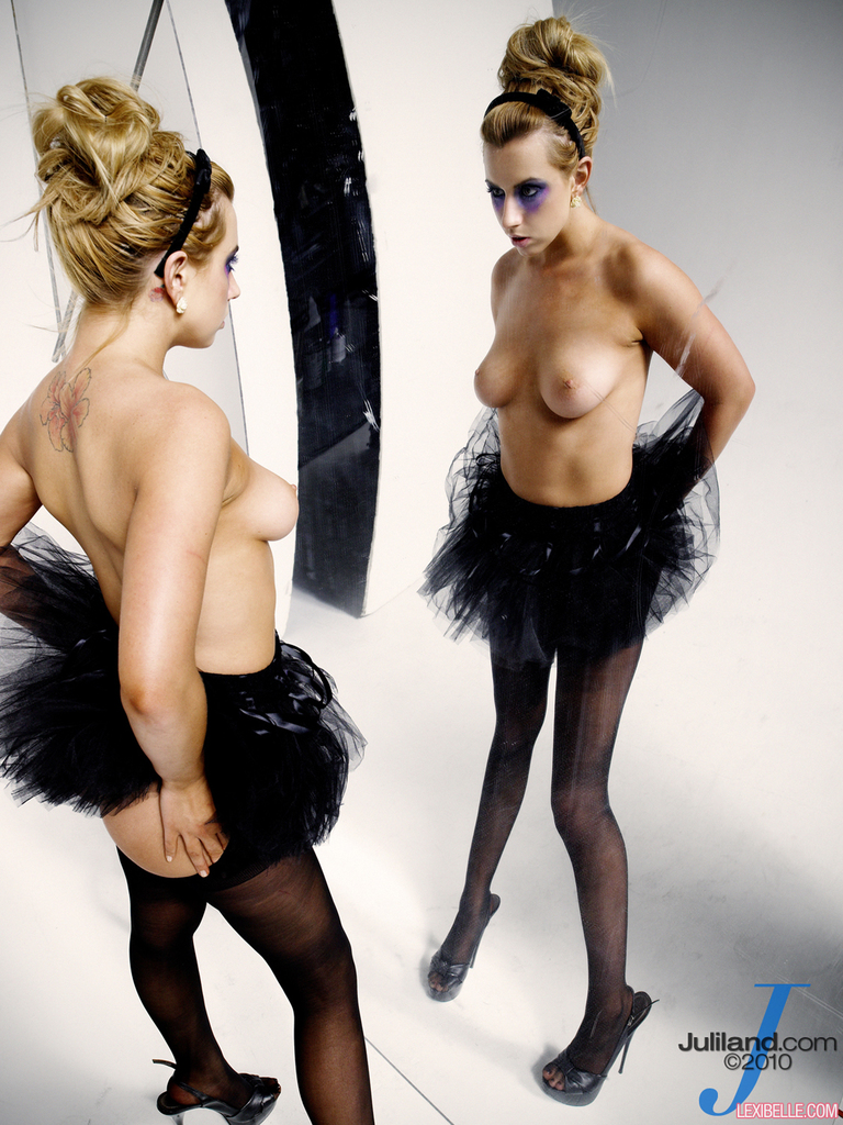 Lexi belle naked uniform