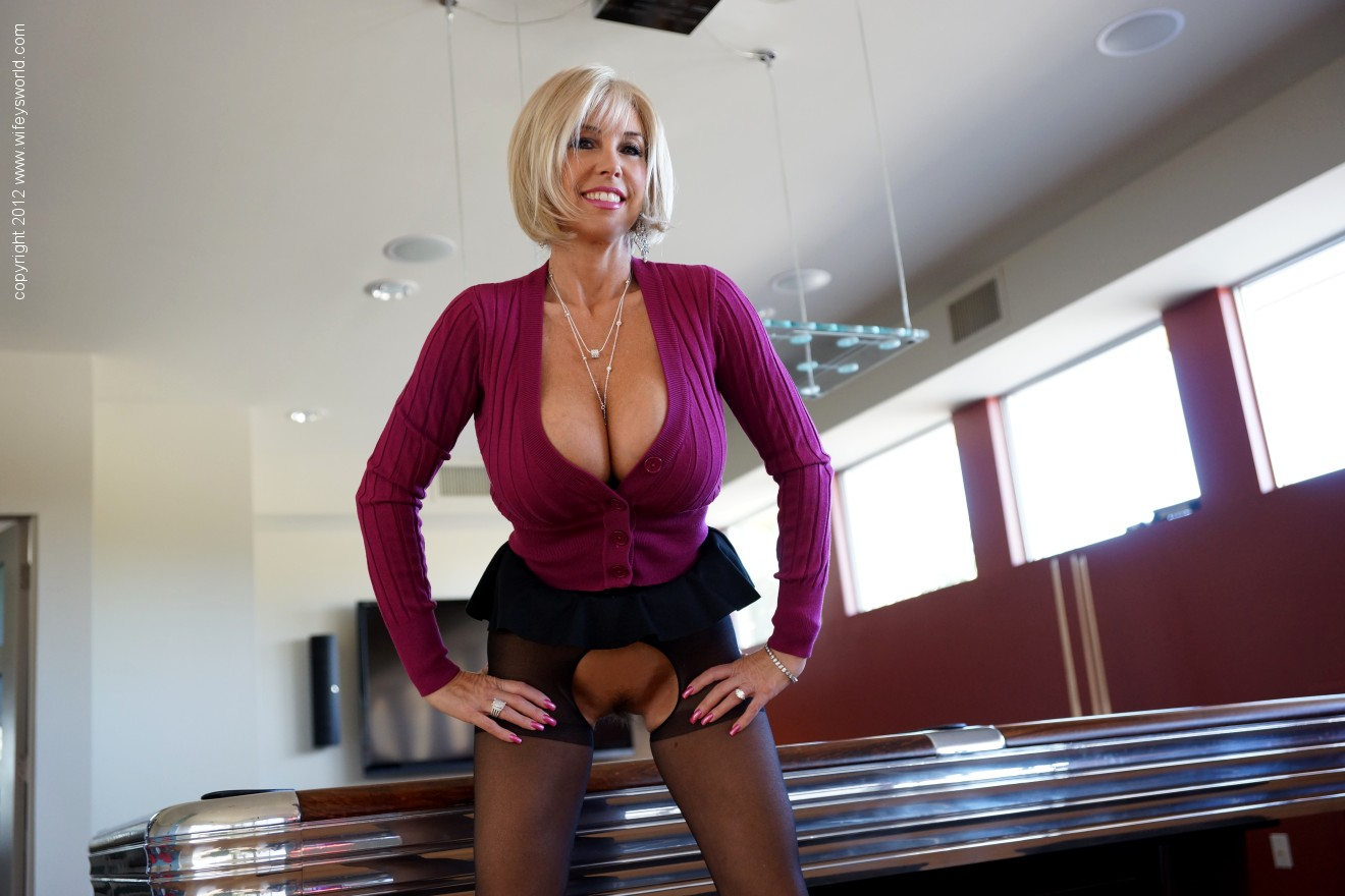 Seems brilliant Big tit blonde milf wifey recommend