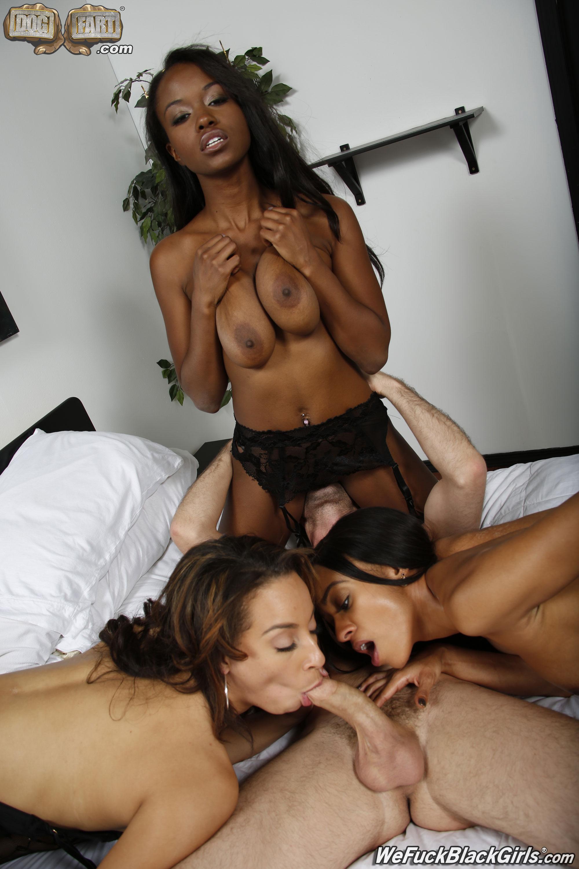 Black girl group sex
