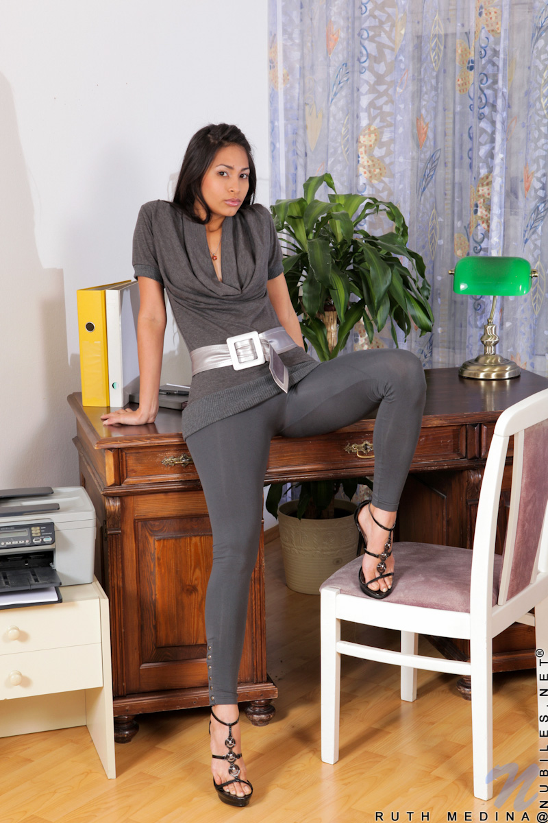 latina girls Sexy office